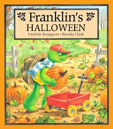 last but not least we love reading franklin in our home in this story franklin is super excited about his halloween party but he becomes reluctant when
