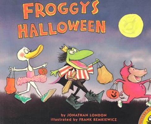 we always love reading a good old froggy book around here my daughter loves the animated voices i put on when reading this one and she constantly laughs at - Halloween Kids Books