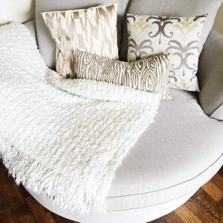 Keeping your space calm and cozy-my guest blog for La-z-Boy Vancouver