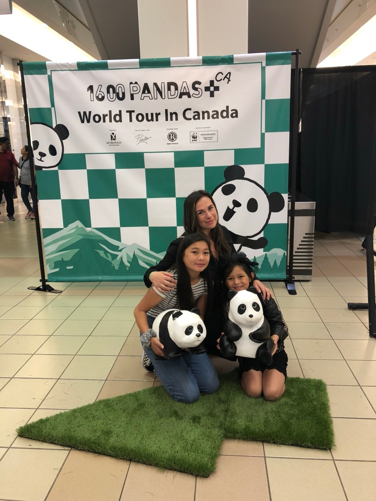 1600 Pandas world tour in Canada